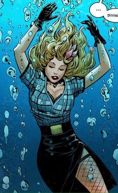 "ladybats no Twitter: ""black canary ✨ bombshells united… "" . Comic Book Characters, Comic Character, Comic Books Art, Comic Art, Black Canary Costume, Dc Comics Girls, Marvel Comics, Arrow Black Canary, Animals"