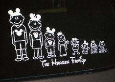 FREE Personalized Disney Family Car Decal Spread Some Family - Family car sticker decals