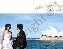 Album Layout Design (Wedding) by Julia Agustine, via Behance