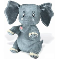 """The Saggy Baggy Elephant 6.5"""" Soft Toy -- Check out the image by visiting the link. (This is an affiliate link) #StuffedAnimalsTeddyBears"""