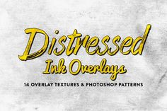 Easily make anything look vintage with these 14 distressed ink overlays. These overlays are optimized to be easy to use. Simply place them over your image then Business Brochure, Business Card Logo, Grunge, Look Vintage, Retro Vintage, Script Type, Creative Sketches, Texture Design, Pencil Illustration