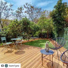 Dacă tot ai timp, profită de ocazie pentru a monta o noua terasa din lemn! 😜. Mulțumesc @[Kom1pro] pentru poze!😁👍.  #inspiratie #terasa #gradina #wolfcraft_romana Diy Jardin, Craft, Comme, Patio, Outdoor Decor, Home Decor, Gardens, Wooden Terrace, Thanks