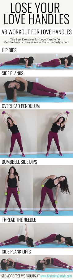 Lose your Love handles | Love Handle Ab Workout for Women | Exercises for Love Handle Fat |