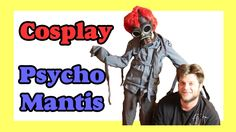 d2e0aee18f4 How to dye a straight jacket to make a Psycho Mantis cosplay-Craft Monday-  Day 843