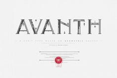 Avanth from FontBundles.net