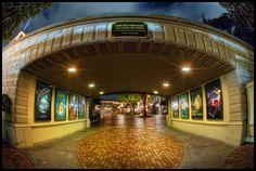 Disneyland Sign, Disneyland Resort, Disney Rides, Disney Parks, Park Resorts, Front Gates, Orange Sky, Before Midnight, Haunted Mansion