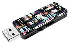 "Fashion Prints USB flash drive ""Lima"" 3/4 top open #EMTEC #FlashDrive #mlleeuge"