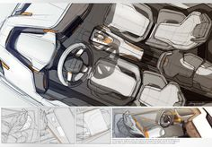 Volvo Roadster by Benjamin Pérot, via Behance