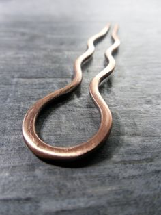 Goddess Hair Fork / Shawl Pin  Natural Hand Forged by Rootiebirds, $39.00