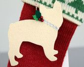 French Bulldog Holiday Ornament