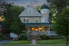 One of a kind 1893 Queen Anne home for sale in Glen Ellyn IL is spectacular home