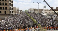Massive rallies clog Yemen capital