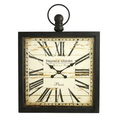 Found it at Wayfair - Olivia Square Wall Clock