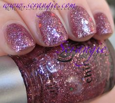 Scrangie: China Glaze Eye Candy 3D Glitters Collection Winter 2011 Swatches and Review. Not a big fan of pink, but this polish is just to die for!