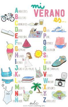 ABC del verano | milowcostblog♥