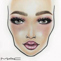 .  ✯✯ MAC GIRLS ✯✯  .  ラッシュで目にボリュームをww  今回のパレットも  本当に使いやすい  .  限定カラーは間違いなく  手に入れたいww  .  ➲ #H2O_FaceChart  ------------------------------------------#MAC#MACmakeup#makeup#Basemakeup#skin#eyeshadow#eyes#eyecolor#Lipstick#Lipcolor#Blush#Facechart#MACFacechart#love#macartistchallenge#MACgirl#MACboy#myartistcommunity#MACcosmeticsjapan#macgirls