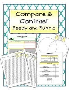 compare and contrast essay rubric 4th grade Compare and contrast questions simply ask the student to find ways that two or more things are the same or different.