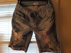 Girls size 7 denim shorts