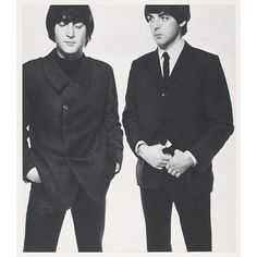 David Bailey's box of pin-ups - John Lennon and Paul McCartney, 1965 - VA Collections