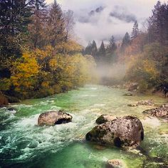 Triglav National Park, Slovenia  The Triglav National Park is the only national park in Solvenia, which makes it a gem for more than just one reason. It extends along the Italian border and close to the Austrian border in the north-west of Slovenia, that is, in the south-eastern section of the Alps.