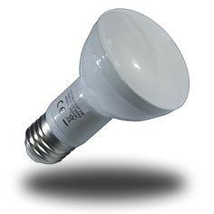 Bombilla LED 7W Modelo R63 SMD5630 Epistar, Casquillo Rosca E27 Luz Dia 4500ºK (220V)