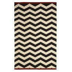 Herringbone pattern, like the dark brown and neutral