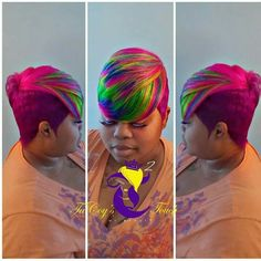 50 Bold Short Haircuts and Hair Color Ideas for Black Women Box Braids Hairstyles, Short Quick Weave Hairstyles, Cute Hairstyles For Short Hair, Black Girls Hairstyles, Hairstyle Ideas, Baddie Hairstyles, Popular Hairstyles, Short Sassy Hair, Short Hair Cuts