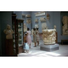 Egypt Alexanderia Egyptian Museum interiors Canvas Art - (18 x 24)