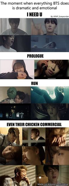 Yaassss, one of the main reasons why I love them so much more tgan other kpop groups<<< The chicken commercial caught me so off guard XD