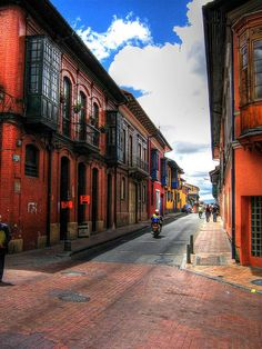 Bogota, Colombia.....La Candelaria HDR by messiahy, via Flickr