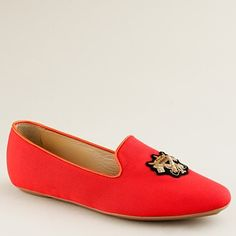 Darby silk faille loafers  $288.00 item 54741  The loafer like you've never seen it before. Our designer was inspired by a gentleman's formal dress slipper when  More...