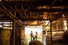 """barn engagement session 