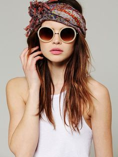 Free People Sweet Jane Sunglasses,18.00