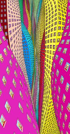 <p>TOK 10 ÅR: Pushwagner brukte 10 år på å bli ferdig med maleriet «Manhattan».</p>