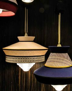 The best lighting inspirations for your interior design project. Be surprised by this suspension lamps Lighting Deco Luminaire, Luminaire Design, Lamp Design, Pendant Chandelier, Pendant Lighting, Cool Lighting, Lighting Design, Ceiling Lamp, Ceiling Lights