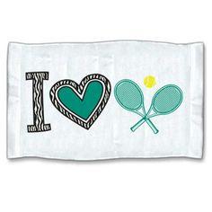 Tennis zebra pattern sweat towel!