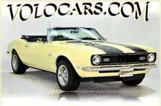1968 CHEVROLET CAMARO CONVERTIBLE - My first car!
