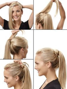 Simple and elegant hair trick