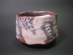 Murasaki Shino Chawan by Suzuki Tomio
