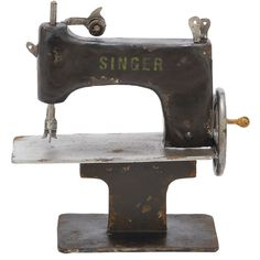 Vintage-Inspired Sewing Machine