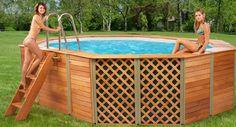 - Piscina Evolution Technypools -   La piscina Evolution rappresenta l'evoluzione massima del progetto Technypools per le piscine di forma ovale.  #piscina #ovale #giardino #design