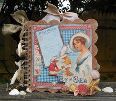 By the Sea Mini ALbum - Scrapbook.com