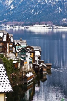 Cold water of Hallstatt Hallstatt, Austria | by pixLX