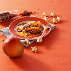 Foie gras poêlé aux mangues