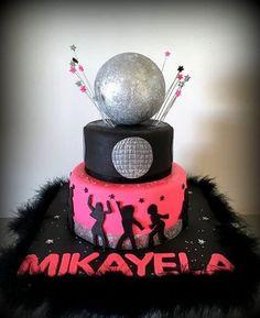 Disco cake  by Sugar&Spice by NA