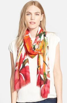 Ted+Baker+London+'Tropical'+Scarf+available+at+#Nordstrom