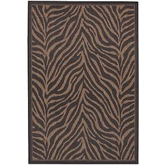 Couristan 1514/0121 Recife Zebra Black/Cocoa Rug 5-Feet 3-Inch by 7-Feet 6-Inch Review https://arearugsforlivingroom.info/couristan-15140121-recife-zebra-blackcocoa-rug-5-feet-3-inch-by-7-feet-6-inch-review/