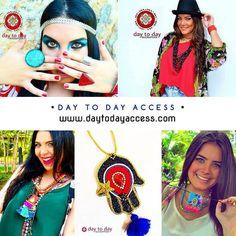 @daytodayaccess ofrece una propuesta de accesorios para todos los días. Conoce más de esta colección en nuestro directorio (Enlace en la biografía). . Instagram: @daytodayaccess #Miami - #Venezuela Shop Online: Daytodayacces.com . #DirectorioMModa #MModaVenezuela #Accesories #DiseñoVenezolano #Fashion #Designer #Latinoamerica #Worldwide