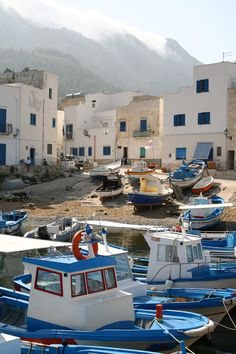 Port parking   Stromboli, Sicily