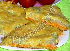Картофельная запеканка (с сыром и морковью) в духовке